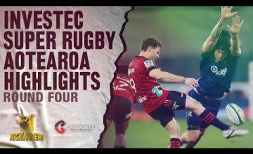 Highlanders v Crusaders Rd.4 2020 Super rugby Aotearoa video highlights
