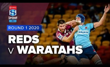 Reds v Waratahs Rd.1 2020 Super rugby Australia video highlights | Super Rugby Australia Video Highlights
