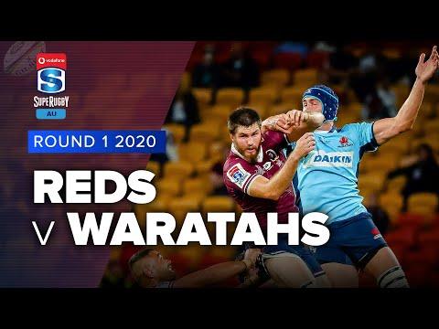 Reds v Waratahs Rd.1 2020 Super rugby Australia video highlights | Super Rugby Australia Video Highlights