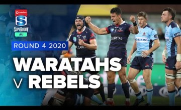 Waratahs v Rebels Rd.4 2020 Super rugby AU video highlights
