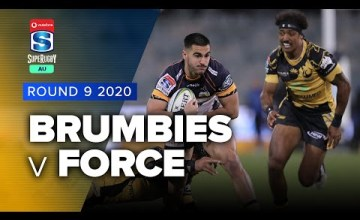 Brumbies v Force Rd.9 2020 Super rugby AU video highlights