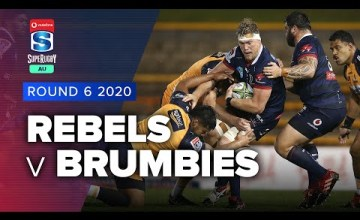 Rebels v Brumbies Rd.6 2020 Super rugby AU video highlights | Super Rugby AU Video Highlights