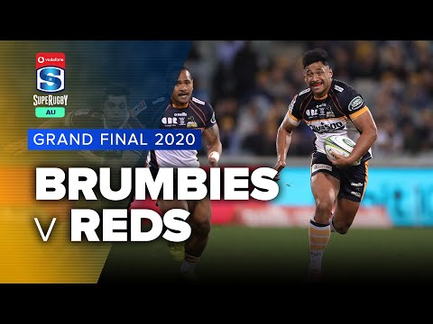 Brumbies v Reds 2020 Super rugby AU Grand final video highlights | Super Rugby Australia Video Highlights