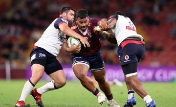 Taniela Tupou of the Reds