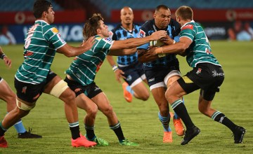The Bulls edge past determined Griquas at Loftus Versfeld, Pretoria to open their Super Rugby Unlocked account with a win.