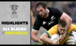 New Zealand v Australia Rd.1 2020 Bledisloe Cup video highlights