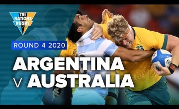 Argentina v Australia Rd.4 2020 TriNations Rugby Championship video highlights