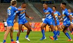 Stormers celebrate Warrick Gelant's try in win over Cheetahs in Super Rugby Unlocked at Newlands, Cape Town