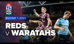 Reds v Waratahs Rd.1 2021 Super rugby AU video highlights | Super Rugby AU Video Highlights