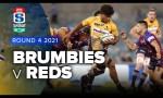 Brumbies v Queensland Reds Rd.4 2021 Super Rugby AU video highlights
