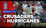 Crusaders v Hurricanes Rd.2 2021 Super rugby Aotearoa video highlights | Super Rugby Video Highlights