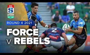 Force v Rebels Rd.4 2021 Super rugby AU video highlights | Super Rugby Video