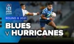 Blues v Hurricanes Rd.6 2021 Super rugby Aotearoa video highlights