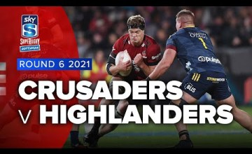 Crusaders v Highlanders Rd.6 2021 Super rugby Aotearoa video highlights