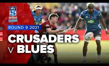 Crusaders v Blues Rd.9 2021 Super rugby Aotearoa video highlights