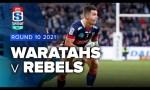 Waratahs v Rebels Rd.10 2021 Super rugby AU video highlights