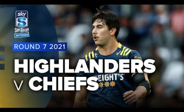Highlanders v Chiefs Rd.7 2021 Super rugby Aotearoa video highlights