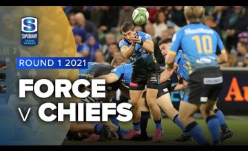 Western Force v Chiefs Rd.1 2021 Super rugby Trans Tasman video highlights