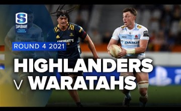 Highlanders v Waratahs Rd.4 2021 Super rugby Trans Tasman video highlights