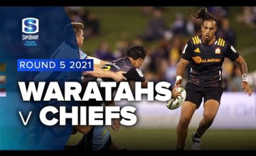 Waratahs v Chiefs Rd.5 2021 Super rugby Trans Tasman video highlights