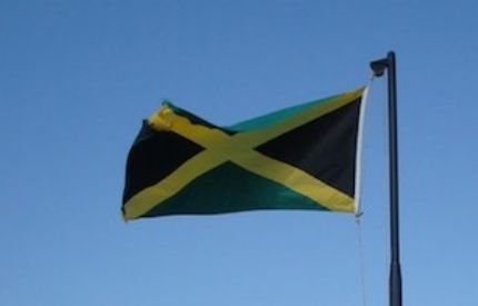 Business Jamaica Superyacht Flag