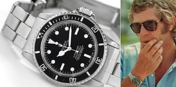 McQueen Rolex Sells For 20 Times Estimated