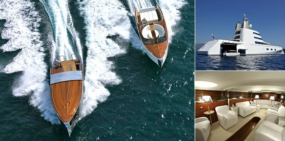 Motor Yacht A Stylish Tenders By Philippe