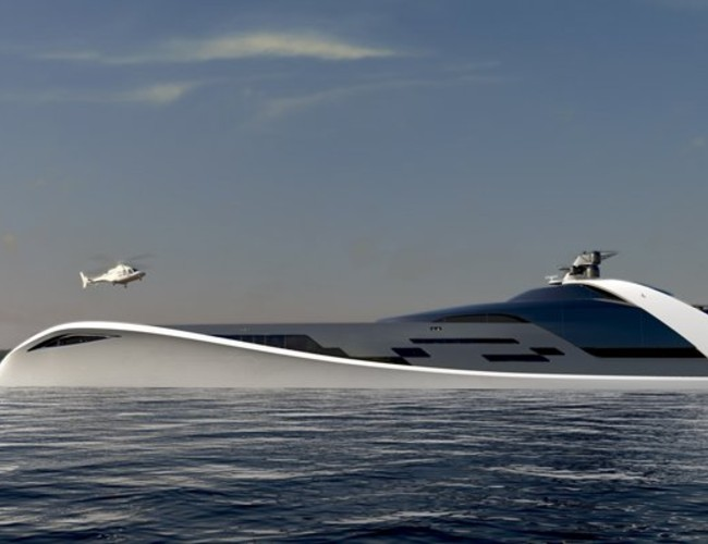 125m 7Cs Superyacht As Visualised By Drive
