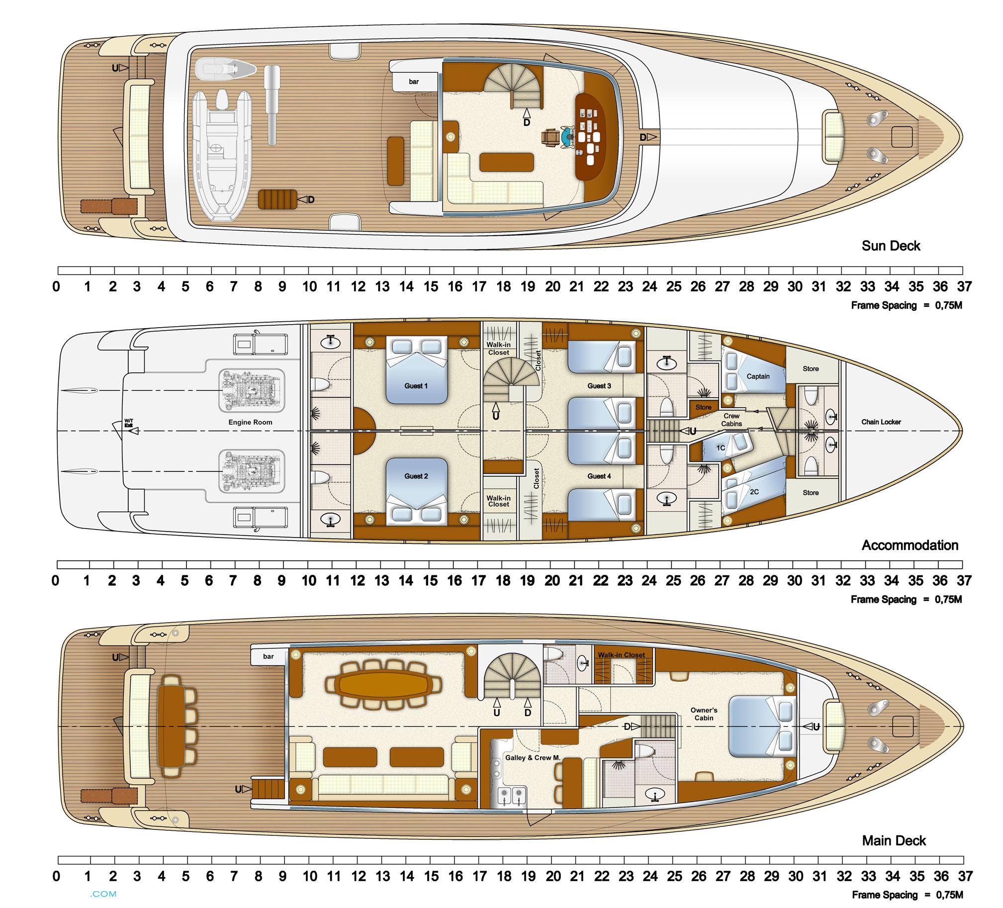 Alpha One Yacht Layout Aegean Yacht Motor