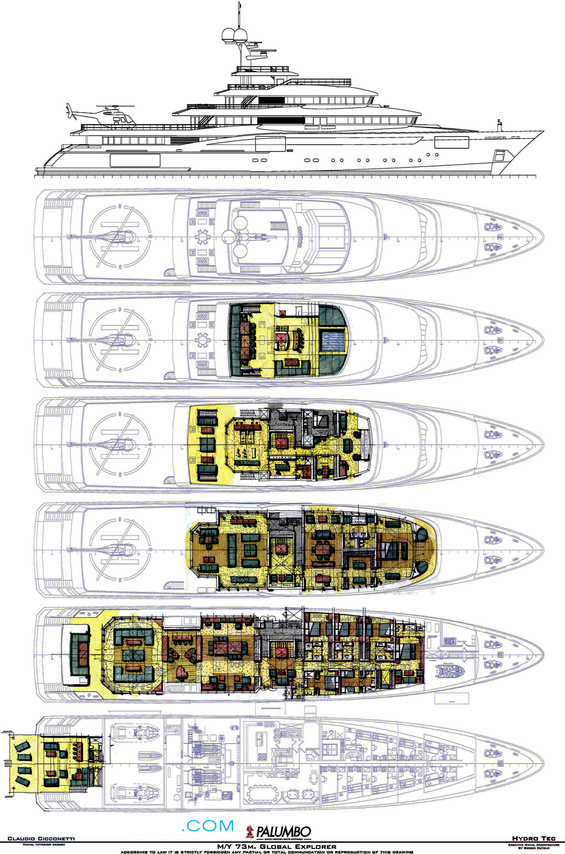 Columbus Global Explorer Yacht For Sale