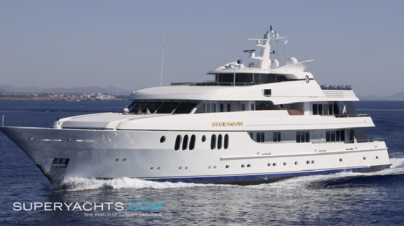 Blue Moon Yacht Photos  Feadship Motor Yacht