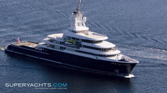 Luna Yacht Lloyd Werft Motor Yacht