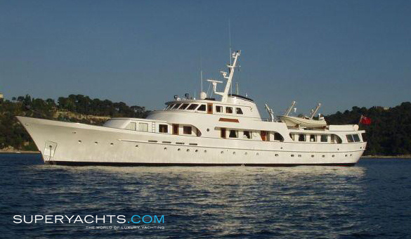Secret Life Charter Feadship Motor Yacht