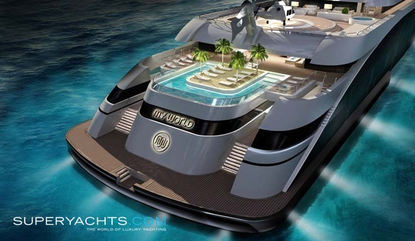 My World Yacht Concept  superyachtscom