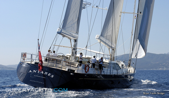 Antares Royal Huisman Sail Yacht