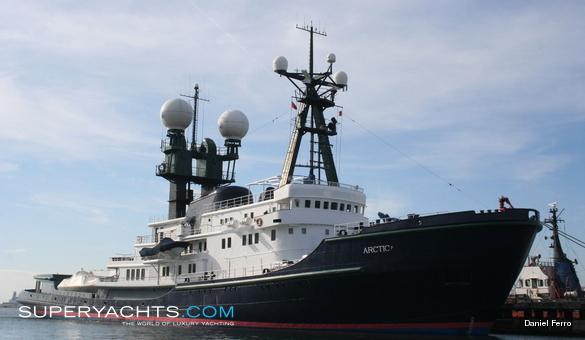 Arctic P Schichau Unterwesser Motor Yacht