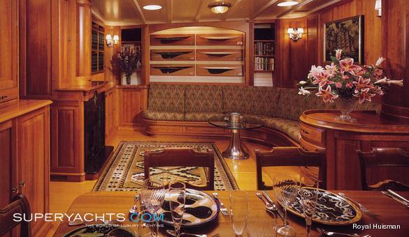 Endeavour Royal Huisman Sail Yacht