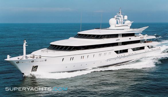 Indian Empress Oceanco Motor Yacht