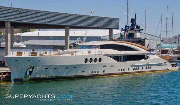 Lady M Palmer Johnson Yachts Motor Yacht