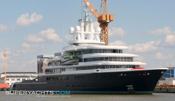 Luna Lloyd Werft Motor Yacht