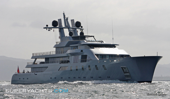 Pacific Lurssen Yachts Motor Yacht