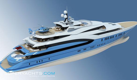 Sunrays Oceanco Motor Yacht