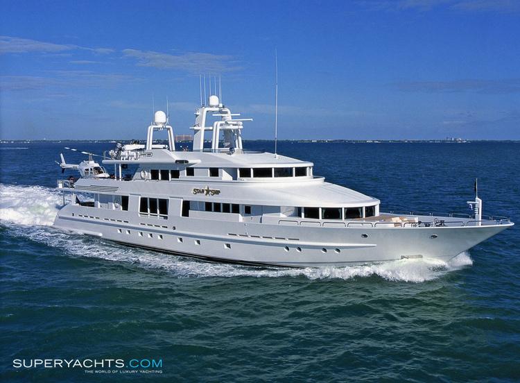 Starship Layout Van Mill Motor Yacht Yacht