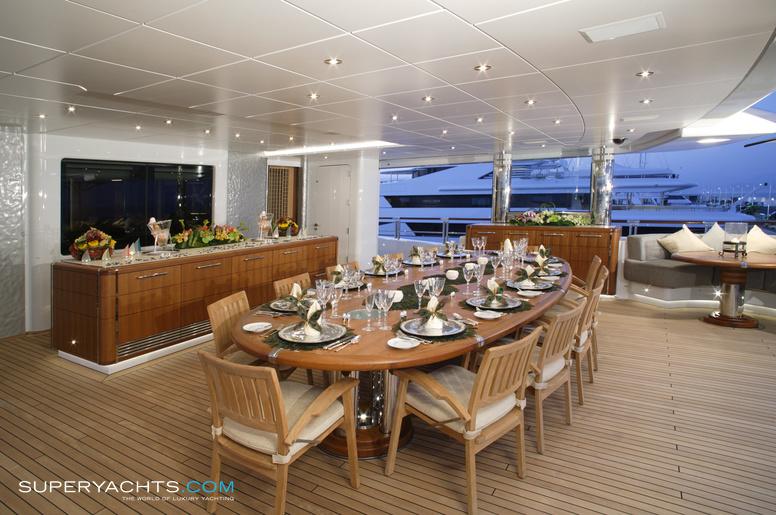 Luxury Motor Yacht Anastasia By Oceanco