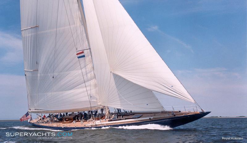 Endeavour Photos Royal Huisman Sail Yacht