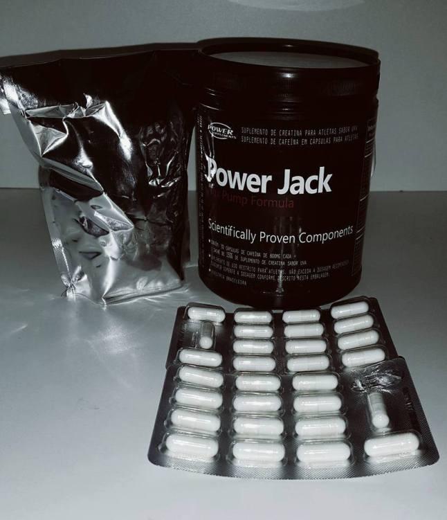 Power Jack Nox Pump pre treino