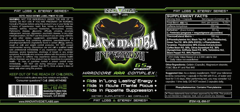Black Mamba é Bom, Como Tomar, Efeitos, Preço e Onde Comprar