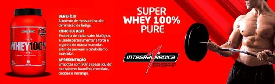 Super Whey 100% Pure - Integralmedica