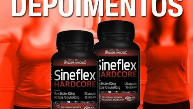 Relatos do Sineflex Hardcore - antes e depois do uso