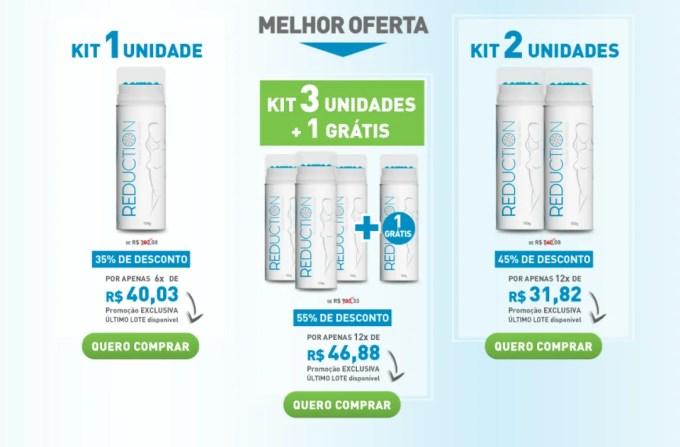 preços gel reduction